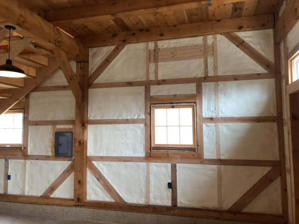 Closed Cell Spray Foam Insulation Red Deer