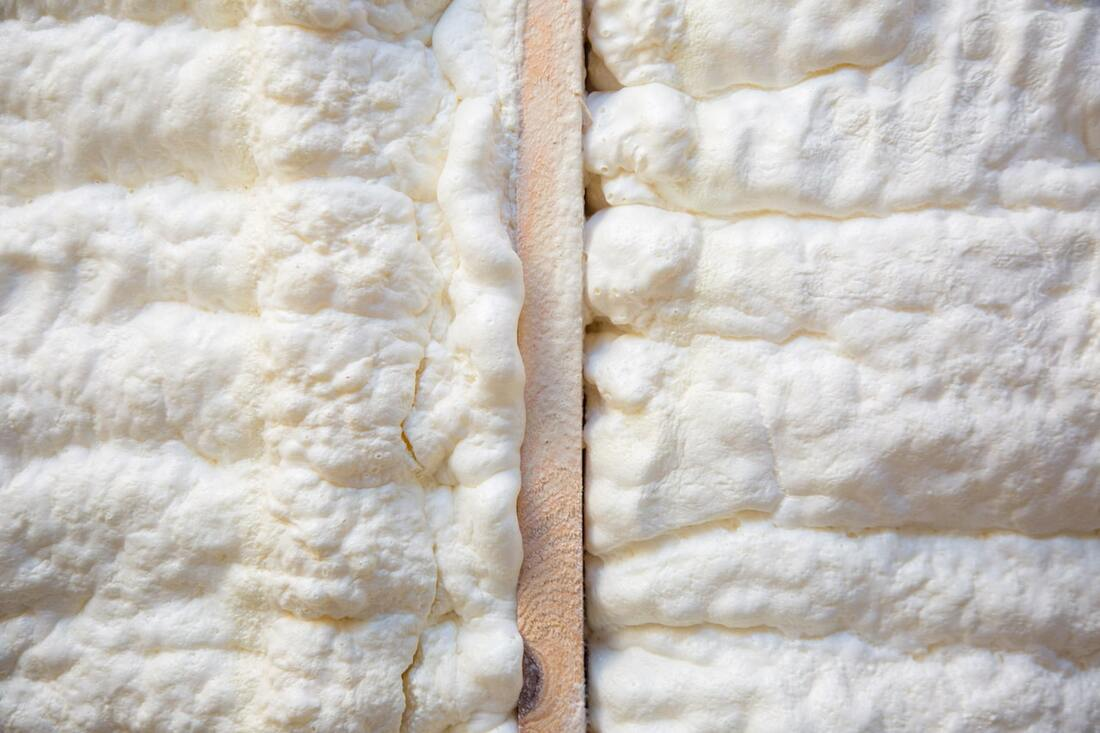 Thick Spray Foam Insulation Red Deer
